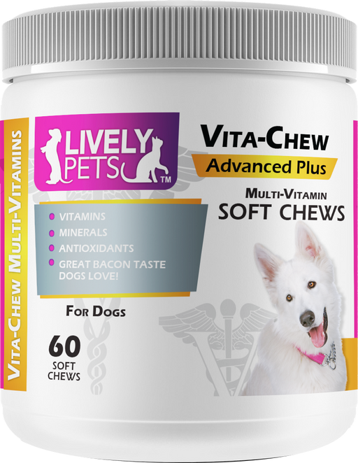 Vita-Chew Multi-Vitamin for Dogs | 60 ct. - LIVELY PETS ONLINE