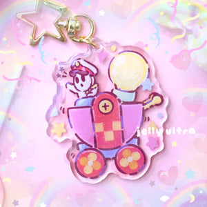 General Guy Acrylic Charm - 2.5 inches
