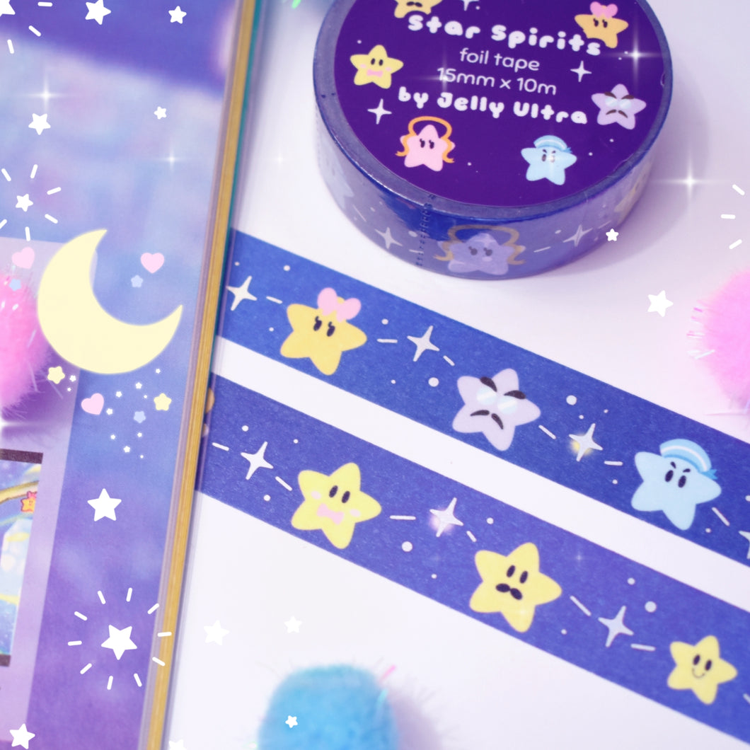 Star Spiritis Foil Washi Tape