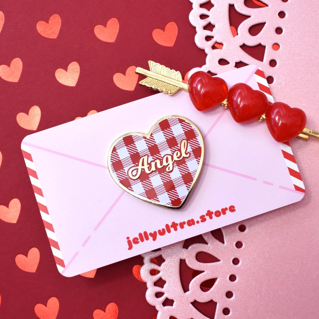Love Letter Enamel Pin (red)