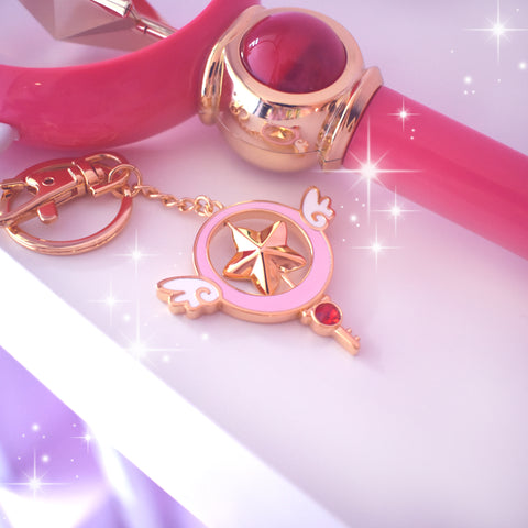 Magic Star Spinner Bag Charm