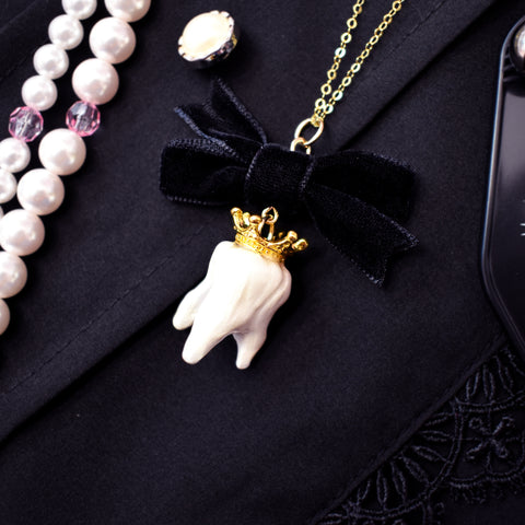 Royal Milk Tooth Necklace [Yumiyumyum x Jelly Ultra]