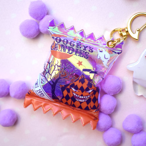 Boogey's Candies - Holo Candy Bag Charm