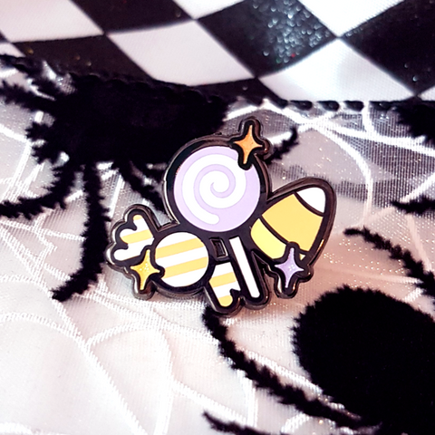 Candy Bunch Enamel Pin