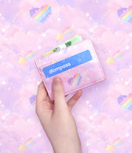 Cotton Candy Clouds - PU Card Wallet