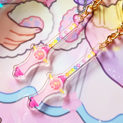 Magical Doremi Peperuto Pollon Acrylic Charm - 2 inches