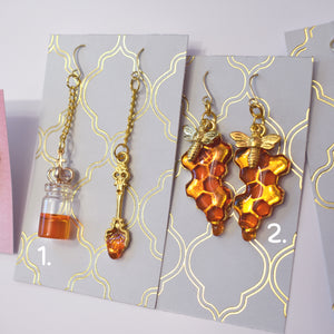 Honey Earrings (Various designs available)