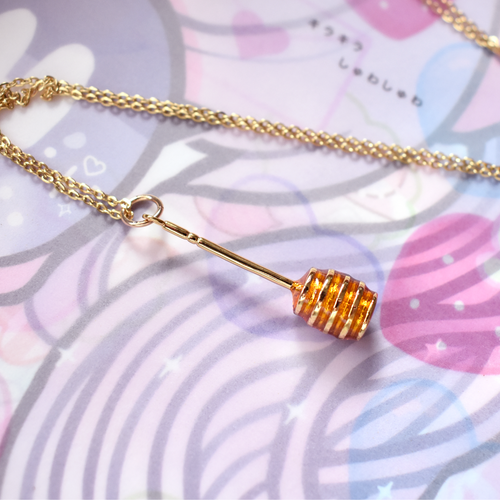*Made To Order* Honey Dipper Necklace - Gold