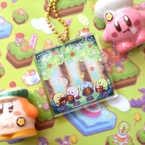 Falling Fruits Minigame Acrylic Charm - 2 inches
