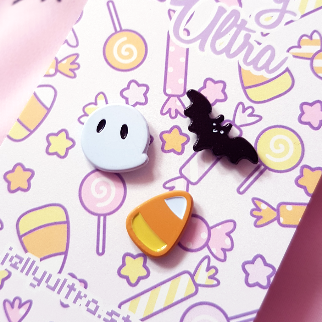 Mini Halloween Collection Enamel Pins