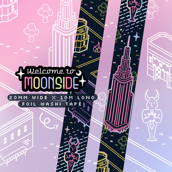 Moonside Foil Washi Tape
