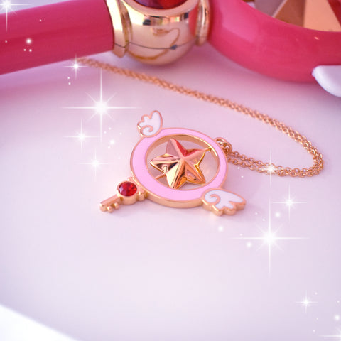 Magic Star Spinner Necklace