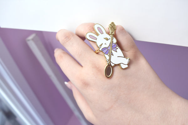 *DEFECT* Sweet Bunny Ring