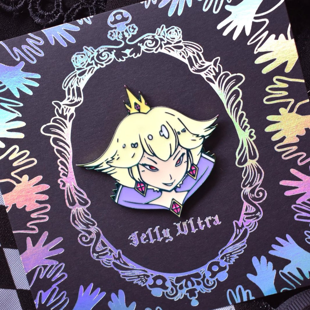 Shadow Peach Enamel Pin
