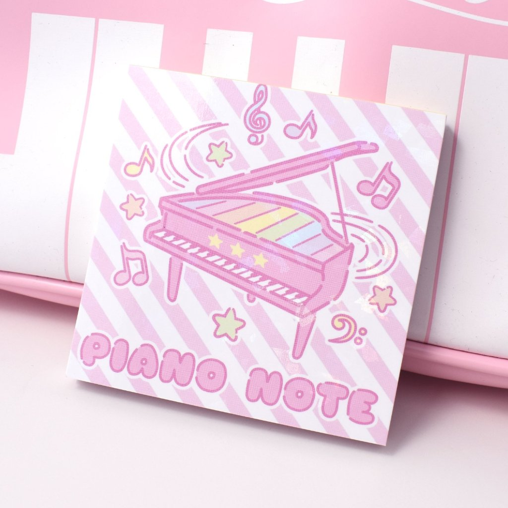 Piano Note Memo Pad
