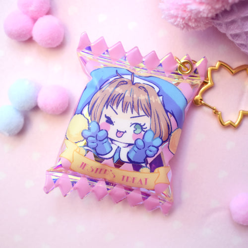 Jester's Treat - Holo Candy Bag Charm