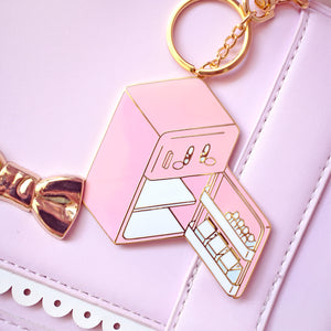 Kirby Fridge Enamel Bag Charm