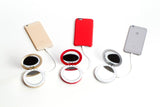 Pearl: Compact Mirror + USB Power Bank 3000mAh - Silicon Geeks