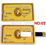 Card USB Flash Memory (AMEX/Centurion) - Silicon Geeks