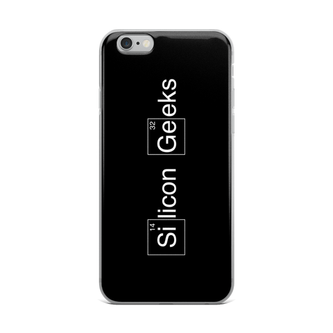Silicon Geeks (Case for iPhone 5S/SE/6/6 Plus) - Silicon Geeks