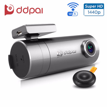 Mini2 Dash Cam (WiFi / UHD / Rotatable Lens) From ddpai - Silicon Geeks