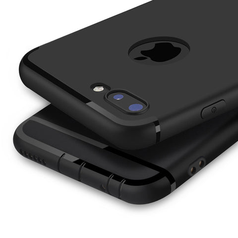 Luxury Matte Soft Silicon Case for Apples' iPhone - Silicon Geeks