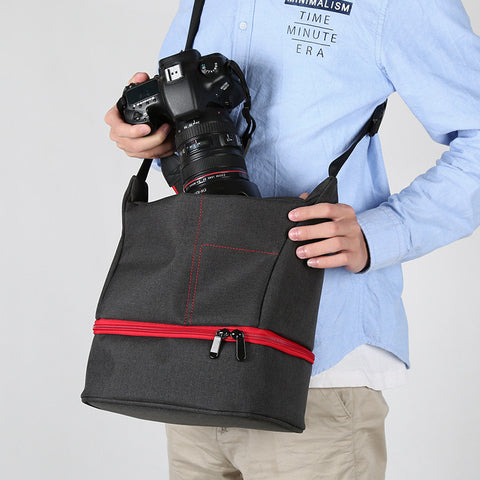 Shoulder Travel Bag for DSLR Cameras - Silicon Geeks