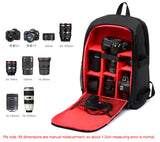 Multi-Functional Waterproof DSLR Camera Bag - Silicon Geeks