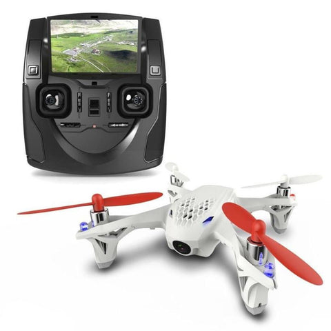 Mini Drone with LCD Controller (Model# Hubsan X4 H107D) - Silicon Geeks