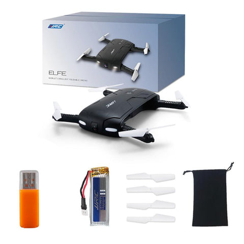 Foldable Selfie Mini Drone Quadcopter (Model# JJRC H37) - Silicon Geeks