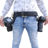 Dual Buckle Hanger Holster for DSLR Camera - Silicon Geeks