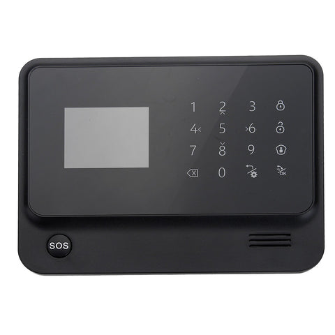 WiFi/GSM Home Intruder Burglar Alarm Security System (Model# G90B) - Silicon Geeks