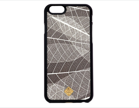 MMORE Organika Skeleton Leaves Phone Case - Silicon Geeks