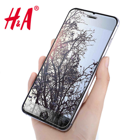 H&A Premium Tempered Glass Screen Protector for Apple iPhone - Silicon Geeks