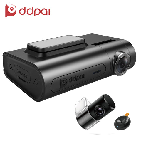 X2 Pro Dash Cam (1440P Ultra HD / Front & Rear Dual Recording) From ddpai - Silicon Geeks