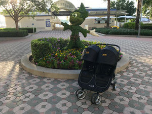 Baby Jogger City Mini Double Rental - WDW Stroller Rental Approved