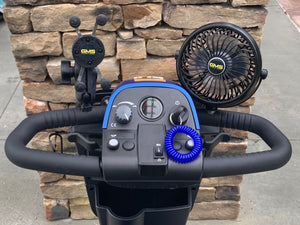 scooter rental with cooling fan