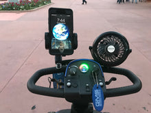 Mobility scooter cooling fan