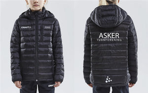 Asker Turn Craft Isola Jacket Svart JUNIOR