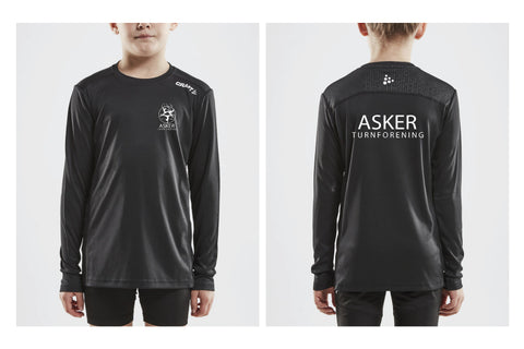 Asker Turn Craft Rush LS Svart JUNIOR