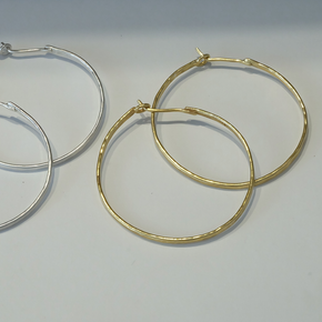 Art of Simplicity hoop earrings
