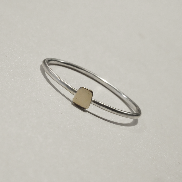 LIGHT at HEART ring