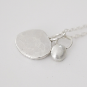 TRUE CALM necklace TWO charms