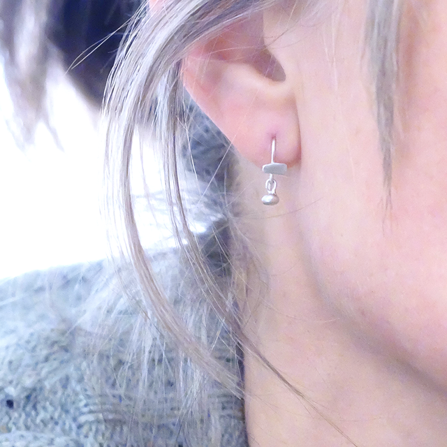 Tribal Tribute tiny earring