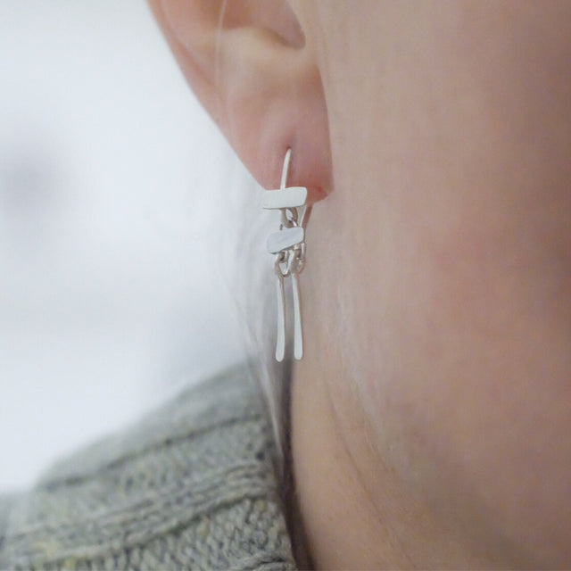 Tribal Tribute triple earring