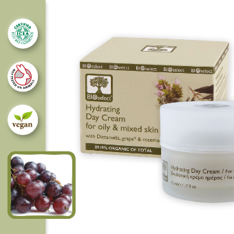 HYDRATING DAY CREAM FOR OILY & MIXED SKIN (50ml)