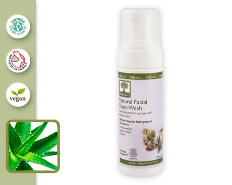 NATURAL FACIAL FOAM WASH (150ml)