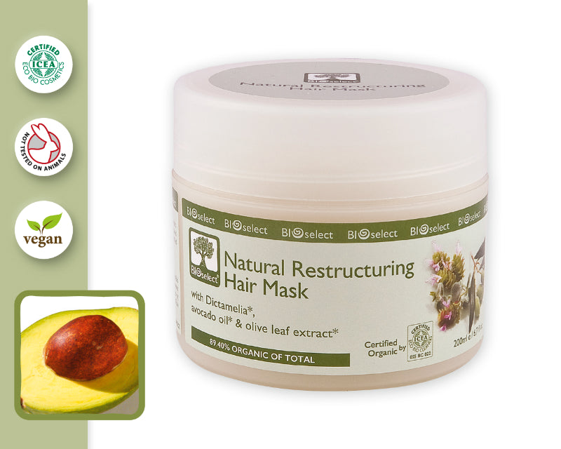 NATURAL RESTRUCTURING HAIR MASK (200ml)