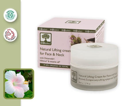 NATURAL LIFTING CREAM FOR FACE & NECK (50ml)