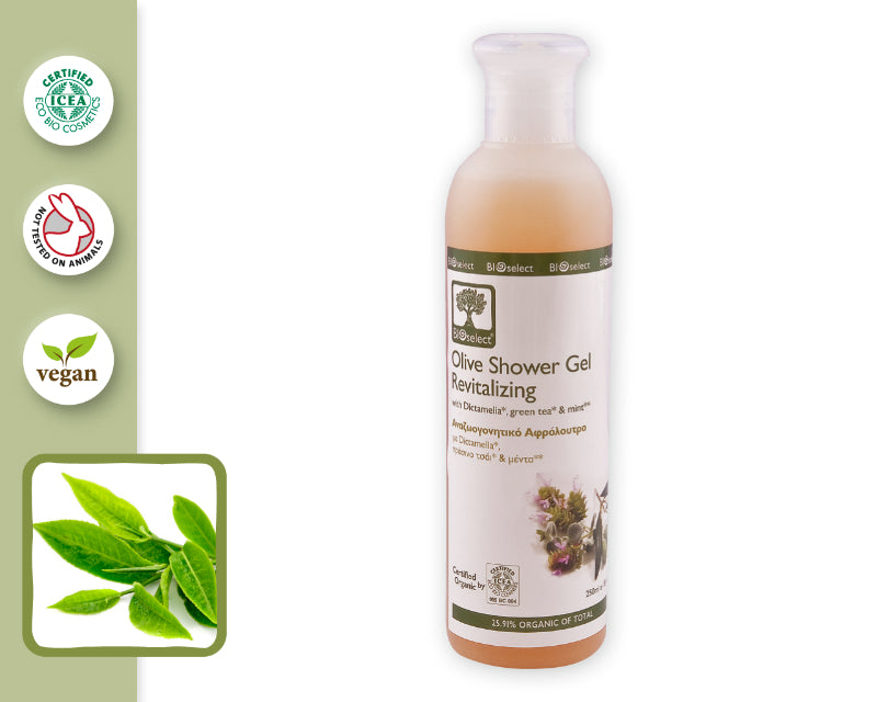 OLIVE SHOWER GEL/ REVITALIZING (250ml)